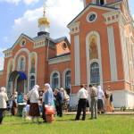 Порт-Артурский храм встретил праздник Святой Троицы