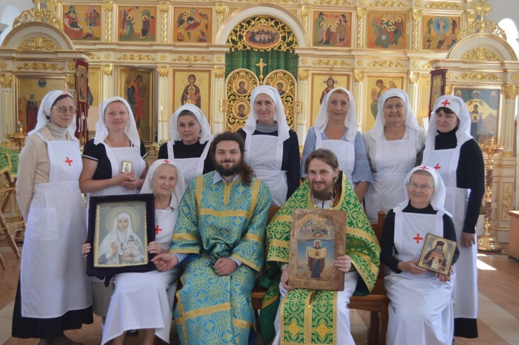 Посвящение сестер милосердия