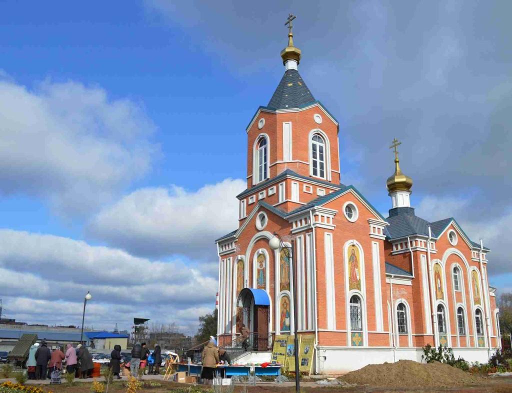 Храм Порт-Артурской иконы Божией Матери в Покров