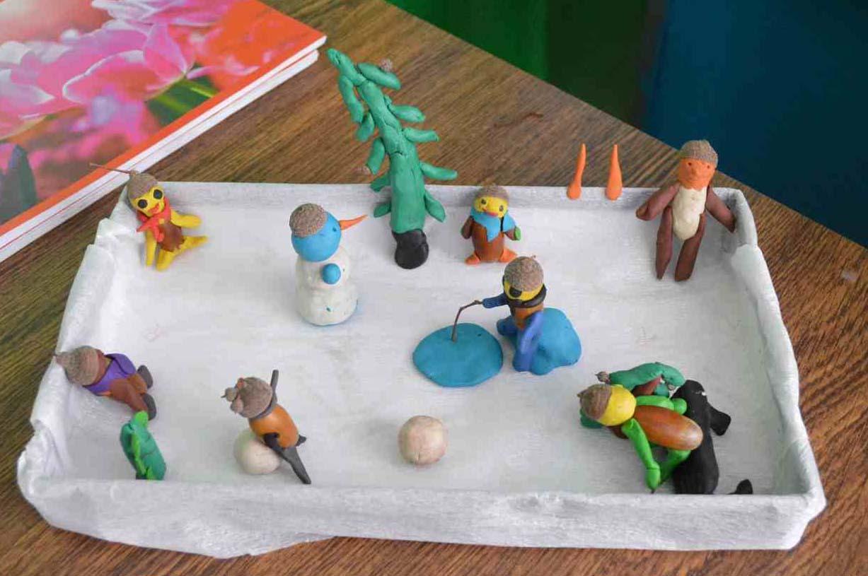 Поделки из пластилина в воскресной школе 4