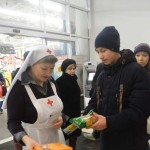 Акция «Милосердия» в ТЦ Семейный Гипермаркет Магнит