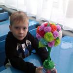 Поделка «Цветочное дерево»