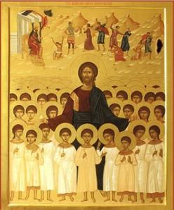 Икона «14000 младенцев в Вифлееме избиенных»