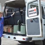 Выезд экипажа «Милосердие» по бездомным