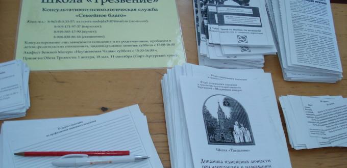 Выставка, Человеческий потенциал России. Трезвение.