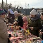 Благотворительная ярмарка в Вербное воскресенье.