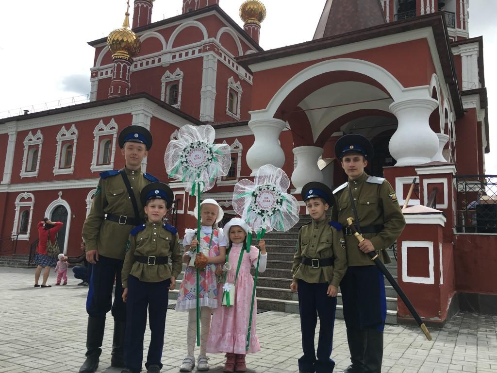 Праздник св. Петра и Февронии. Ярмарка Белый цветок 2017