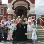 Белый Цветок на праздник св. Петра и Февронии
