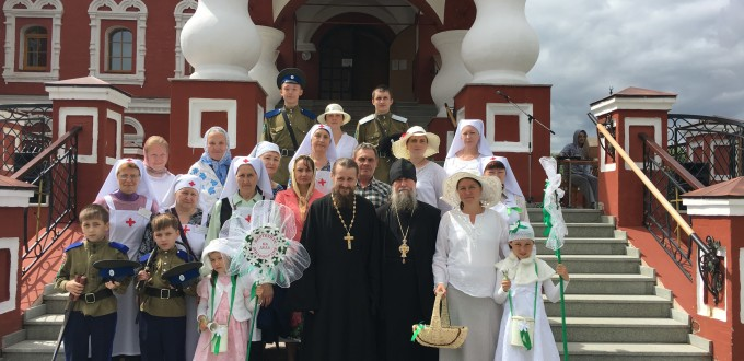 Праздник св.Петра и Февронии. Ярмарка Белый цветок 2017