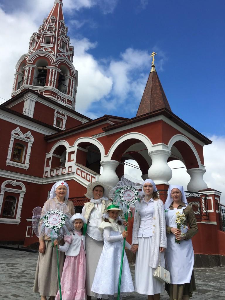 Праздник святых Петра и Февронии. Ярмарка Белый цветок 2017