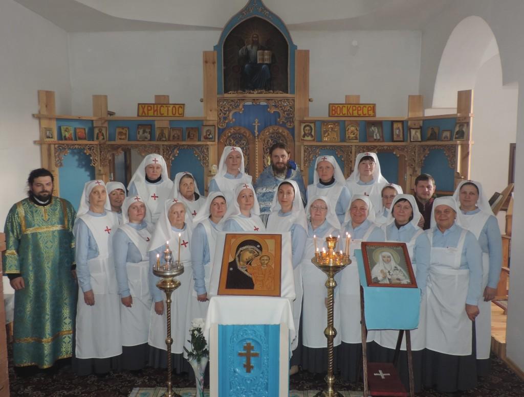 4 ноября 2017г. посвящение в сёстры милосердия на 10-летие Сестричества Милосердия