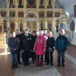 Экскурсия для школьников по Порт-Артурскому храму города Кургана из села Кропани