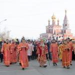 8 апреля, в праздник Пасхи Христовой, в Кургане прошел традиционный многолюдный Пасхальный общегородской крестный ход