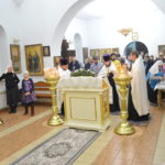 Великий праздник Крещения Господня в храме Порт-Артурской иконе Божией Матери