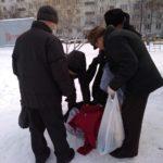 Экипаж «Милосердия» по бездомным