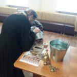 Водосвятный молебен в областном наркодиспансере