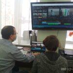 На первом занятии в Новом году слушатели «Медиастудии добрых дел» смонтировали новый видеоролик