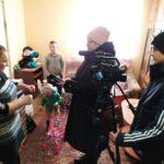 В Кургане в дни Рождественских Святок «Экипаж милосердия» посетил многодетные семьи города Кургана